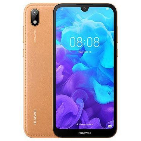 HUAWEI Smartphone - Y5 2019 - 16 Go - 5.71 pouces - Ambre - Amber brown - 4G