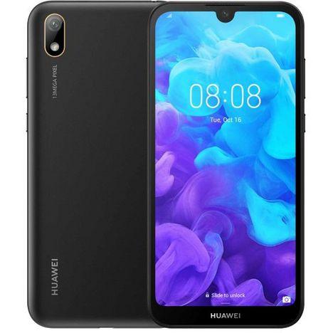 HUAWEI Smartphone - Y5 2019 - 16 Go - 5.71 pouces - Noir - Midnight black - 4G