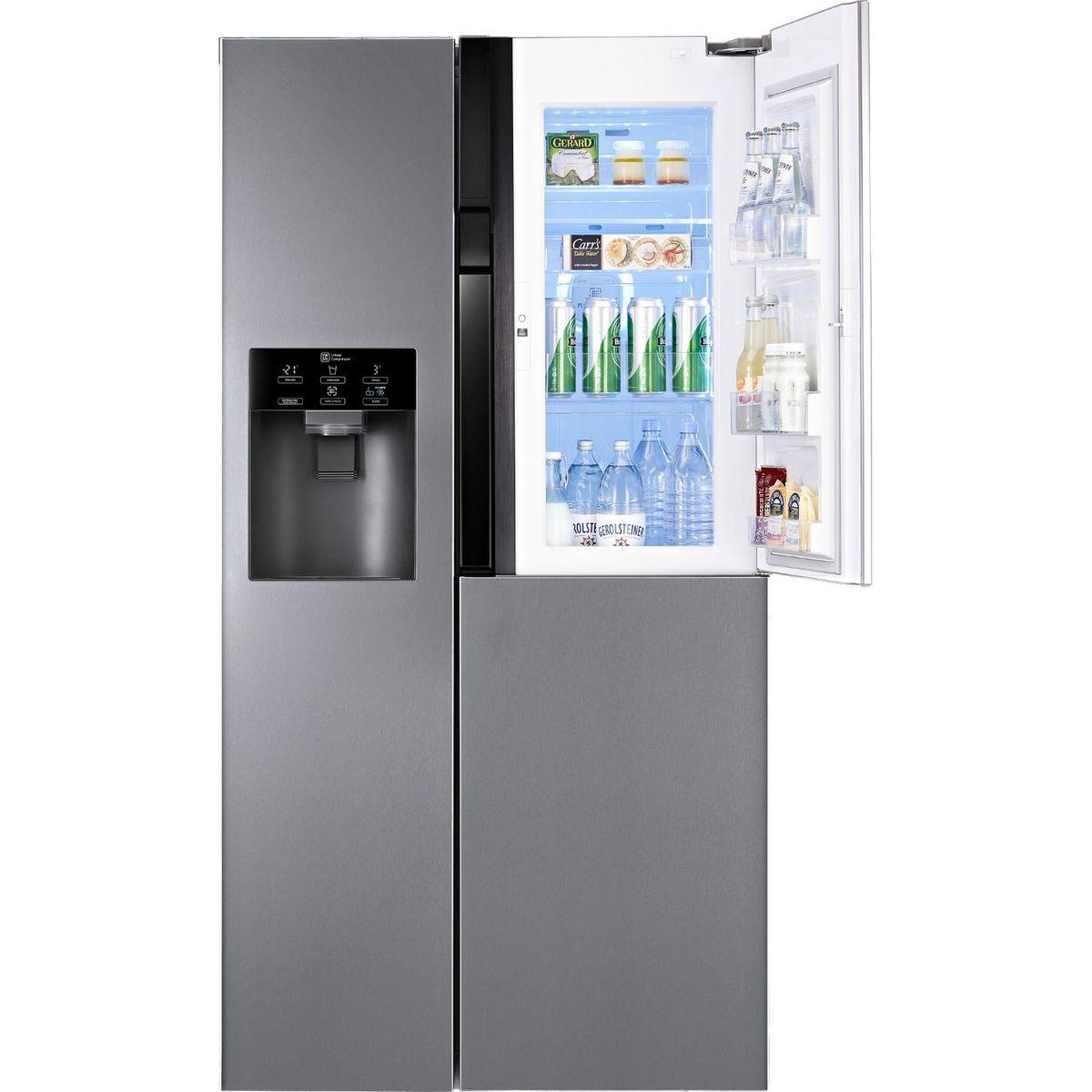 Réfrigérateur américain GSJ360DIDV, 591 L, Froid No Frost