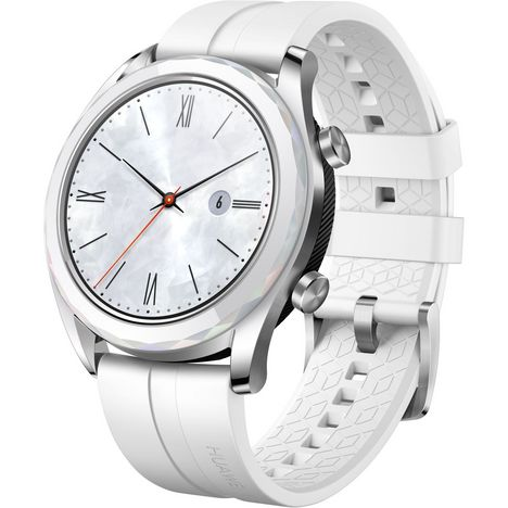 HUAWEI Montre connectée - Watch GT Elegant - Blanc