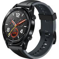 HUAWEI Montre connectée - Watch GT - Noir Silicone
