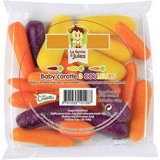 LA FERME A JULES La Ferme à Jules baby carotte tricolore 150g
