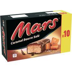 MARS Barre glacée au caramel beurre salé 10 pièces 373g