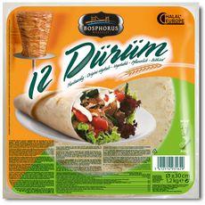 Durum Bosphorus tortillas  x12 -1,2kg