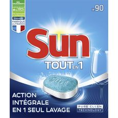 Sun Tablettes lave-vaisselle tout-en-1 x90