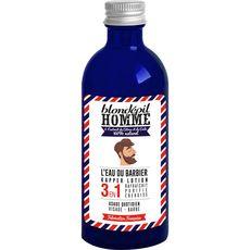 Blondépil HOMME L'eau du barbier lotion visage et barbe 100ml