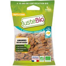Juste Bio amandes décortiquées 100g
