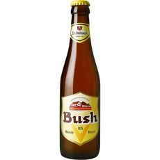 BUSH Bière blonde Belge 10,5% bouteille 33cl