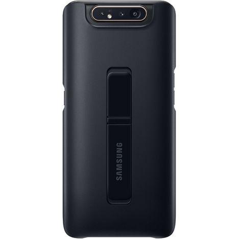 SAMSUNG Coque Antichoc Fonction Stand Noir Pour Galaxy A80