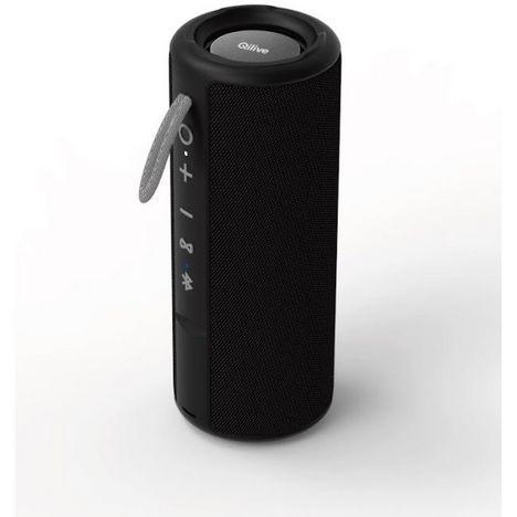QILIVE Enceinte Bluetooth - Q.1639 Splash - Noir