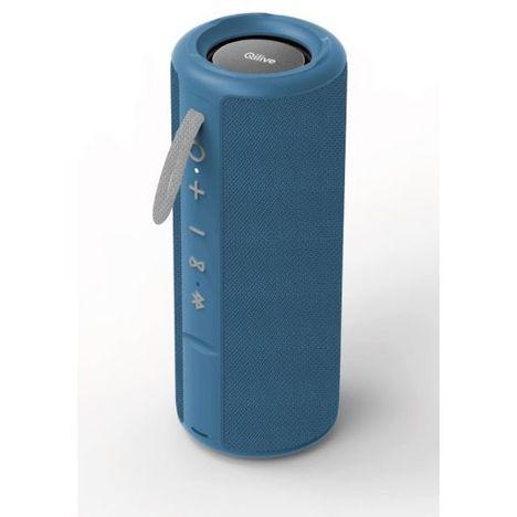 QILIVE Enceinte Bluetooth - Q.1639 Splash - Bleu