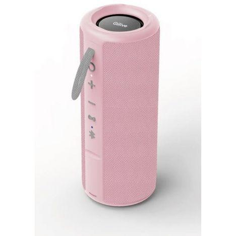 QILIVE Enceinte Bluetooth - Q.1639 Splash - Rose