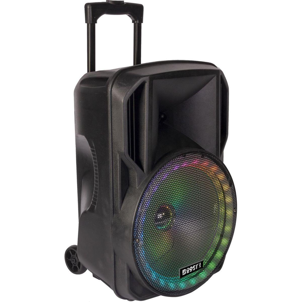 Enceinte portable Bluetooth - Noir - 12RGB-700