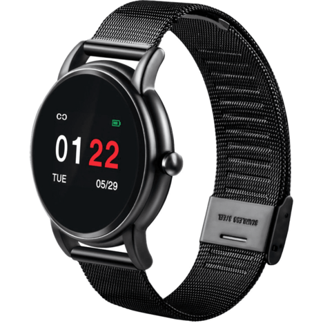 ABYX Montre connectée Tracker FIT PRO Gris
