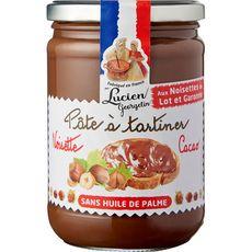 LUCIEN GEORGELIN Pâte à tartiner aux noisettes sans huile de palme 600g