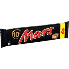 MARS Barres chocolatées 10+2 offertes 540g