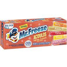 Mr Freeze big pop acidulos 20x45ml