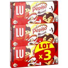 PEPITO Pépito marbré aux pépites de chocolat 3x135g