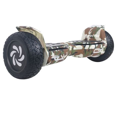MOOVWAY Hoverboard - All Road - Camouflage
