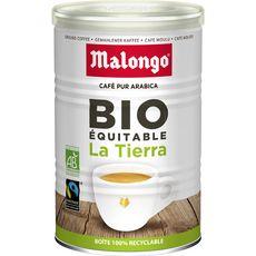 Malongo Café moulu la tierra pur arabica bio 250g