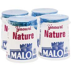 MALO Yaourt nature 4x125g