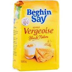 BEGHIN SAY Vergeoise blonde traditionnelle 500g