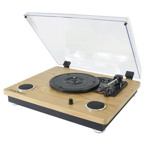 MADISON Platine vinyle vintage MAD-RT300SP-MKII - Bois