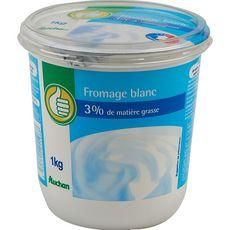 POUCE Pouce fromage blanc 3%mg 1kg 1kg