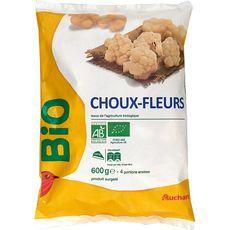 AUCHAN BIO Choux-fleurs 3 portions 600g