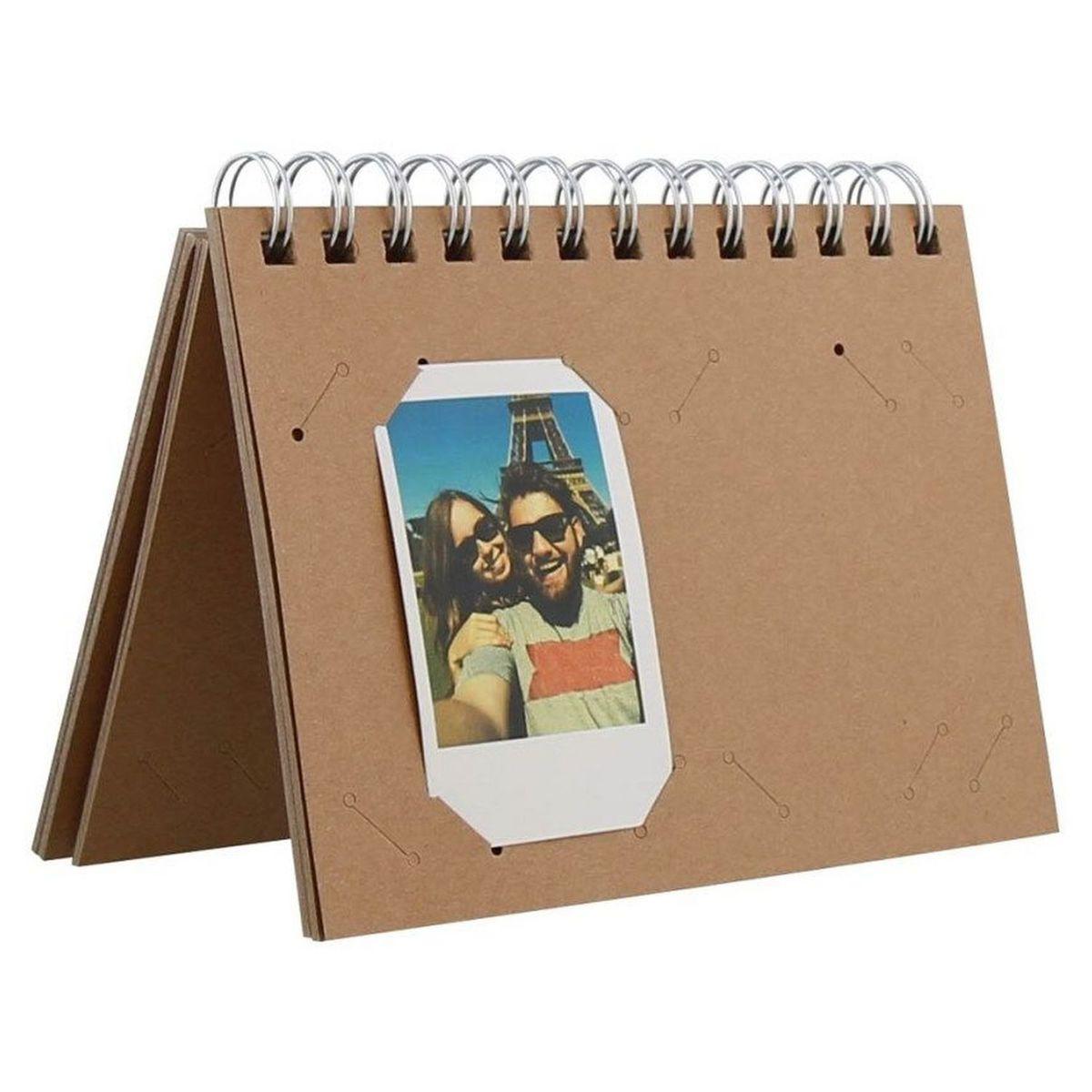Album photo Lensy Kraft pour Instax Mini 40 photos