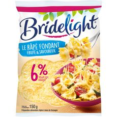 BRIDELIGHT Fromage râpé fondant extra léger 150g