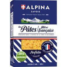 ALPINA Alpina Savoie pâtes farfalle filière française 500g