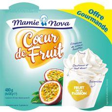 MAMIE NOVA Mamie Nova yaourt gourmand fruit de la passion 4x150g