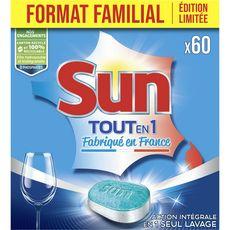 Sun tout en 1 standard dose x60 -1,05kg