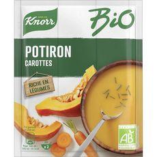 Knorr bio soupe potiron et carottes bio 51g