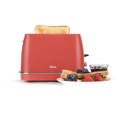 QILIVE Grille pain - 144379 - Rouge
