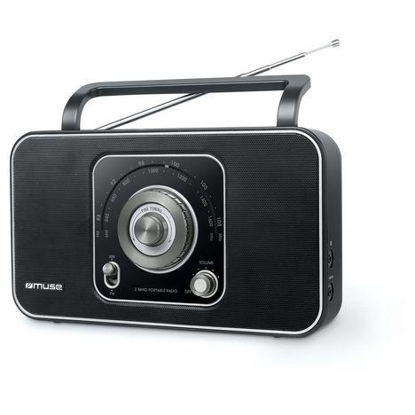 MUSE Radio portable - Noir/Argent - M-069 R