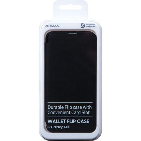 SAMSUNG Etui à rabat pour Samsung Galaxy A10 Noir