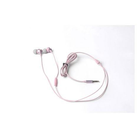QILIVE Écouteurs Q1335 Intra-auriculaire 1,2 m ML Rose Métal