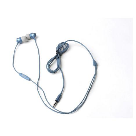 QILIVE Écouteurs Q1335 Intra-auriculaire 1,2 m ML Bleu Métal