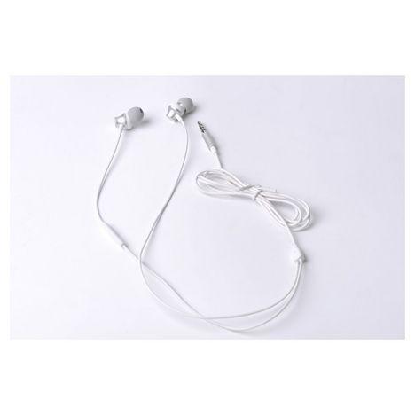 QILIVE Écouteurs Q1335 Intra-auriculaire 1,2 m ML Blanc Métal