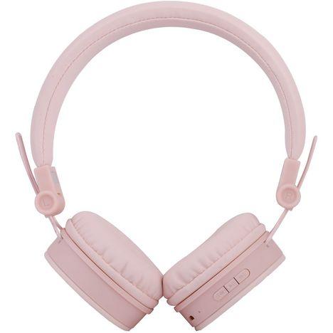 QILIVE Casque audio Q1513 Bluetooth Rose