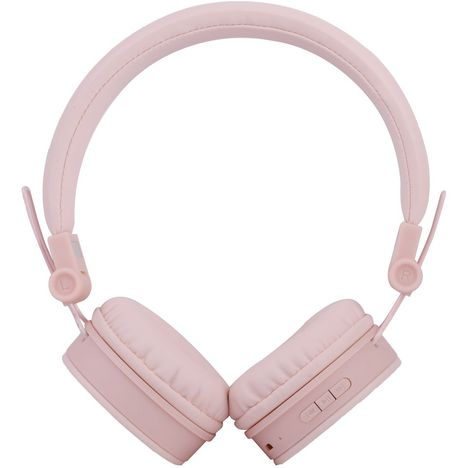 QILIVE Casque audio Q1513 Bluetooth Rose