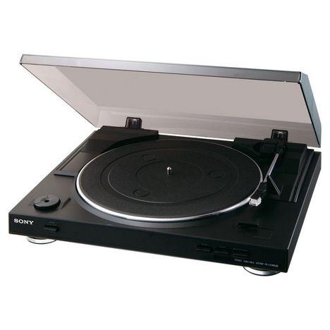 SONY Platine vinyle PS-LX300USB - Noir