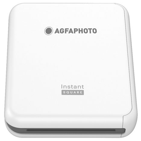 AGFA Imprimante photo portable ASPQP33 Blanc