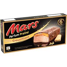Mars Barre glacée au caramel parfum praline 213g