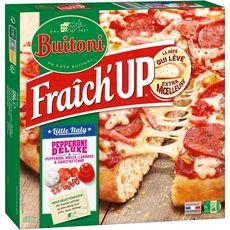 BUITONI Fraîch'up Pizza épaisse moelleuse pepperoni deluxe 550g