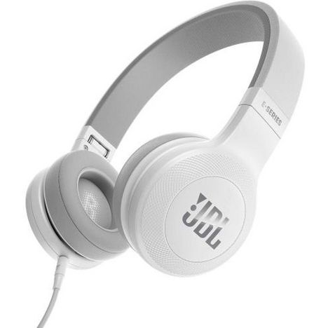 JBL Casque audio filaire - Blanc - E35