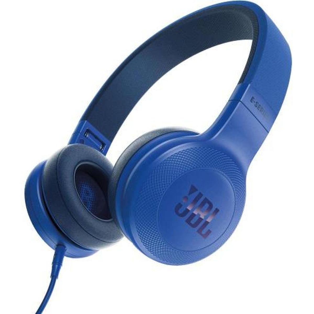 Casque audio filaire - Bleu - E35