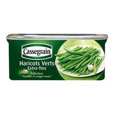 Cassegrain haricots verts extra fins 110g